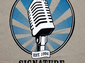 Signature Sounds T-Shirt - Blue Logo photo