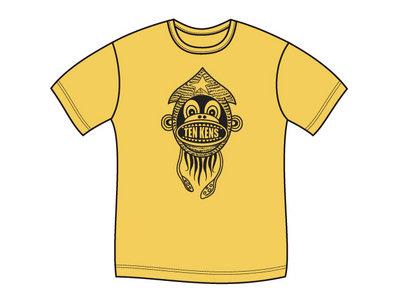 Ten Kens 'Squid Monkey' Tee (Yellow) main photo