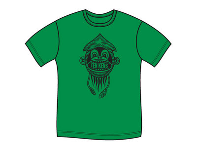 Ten Kens 'Squid Monkey' Tee (Green) main photo