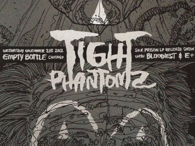 Tight Phantomz SILK PRISON record release show poster main photo