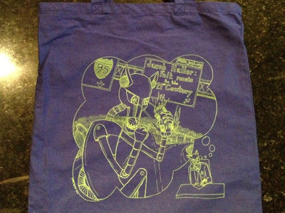 Killer Robot tote bag main photo