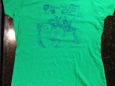 Killer Robot t-shirt (kelly green) main photo
