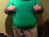Killer Robot t-shirt (kelly green) photo