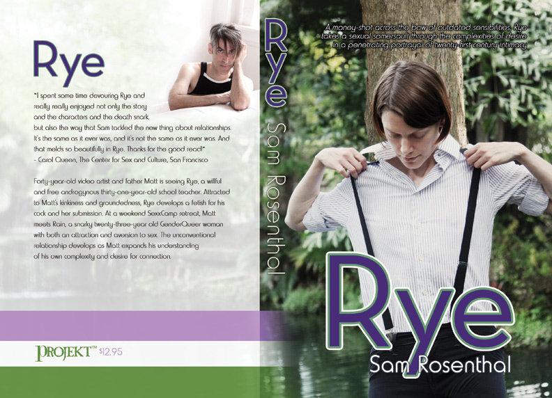 ... Rye - an erotic novel (paperback book) photo ...
