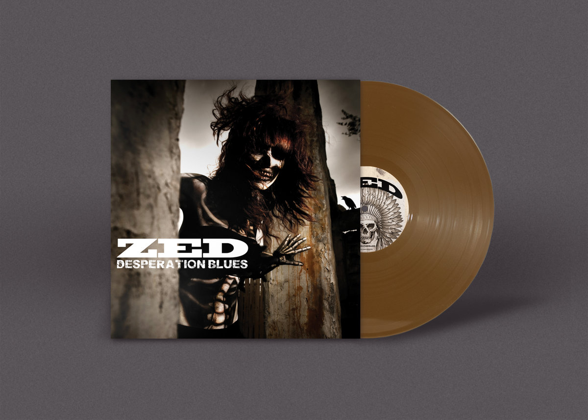 Crawl back to you zed album desperation blues pressed on desperation bronze vinyl a lovely jacket designed mark the bassplayer and insert with lyrics and credits etc stopboris Gallery