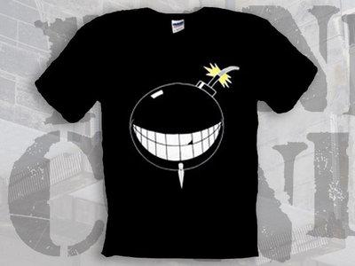 Smiley-Bomb Random Conflict T-Shirt (Black) main photo