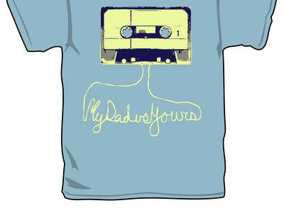 Cassette Tape Design T-shirt main photo