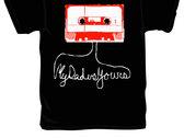 Cassette Tape Design T-shirt photo