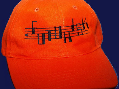 FUTURISK ORANGE-ALERT JET-CAP embroidered Logo  NEON-ORANGE or ORANGE/CAMMO CAP main photo