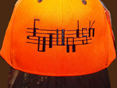 FUTURISK ORANGE-ALERT JET-CAP embroidered Logo  NEON-ORANGE or ORANGE/CAMMO CAP photo