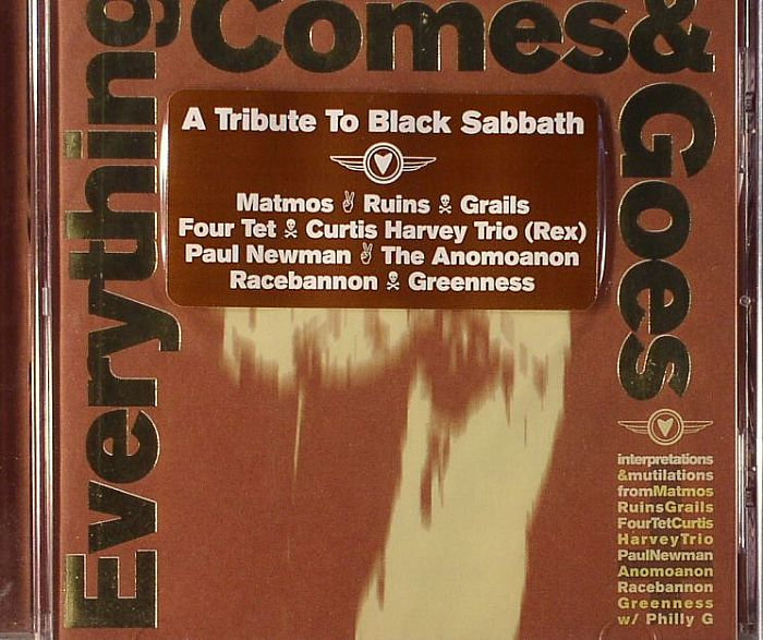 Everything Comes & Goes: A Tribute to Black Sabbath' Compact