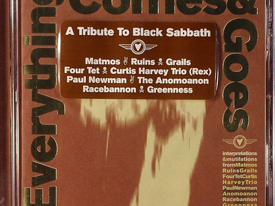 'Everything Comes & Goes: A Tribute to Black Sabbath' Compact Disc main photo