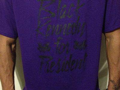 BLACK KENNEDY TEE (Purple) main photo