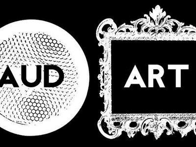 aud-art logo t shirt main photo