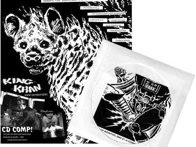 BEST OF MONGREL ZINE #1-3 + CD COMP main photo