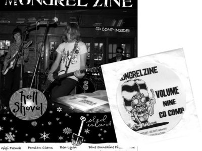 MONGREL ZINE #9 + VOL. 9 CD COMP main photo
