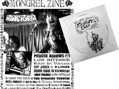 MONGREL ZINE #5 + VOL. 2 CD COMP main photo