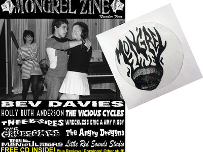 MONGREL ZINE #4 & VOL. 1 CD COMP main photo