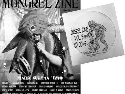MONGREL ZINE #8 & VOL. 5 CD COMP main photo