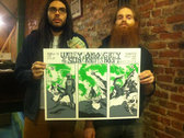 Valley of the Sun / Grey Host / Ohio Knife - Grey Host Record Release Show Print photo