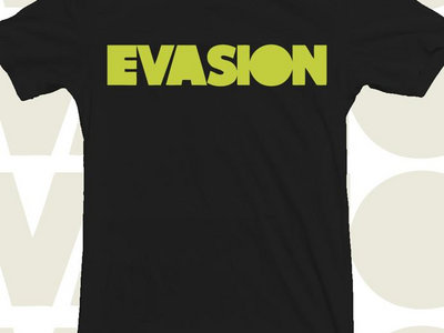 Black Evasion T-Shirt with Yellow Logo main photo