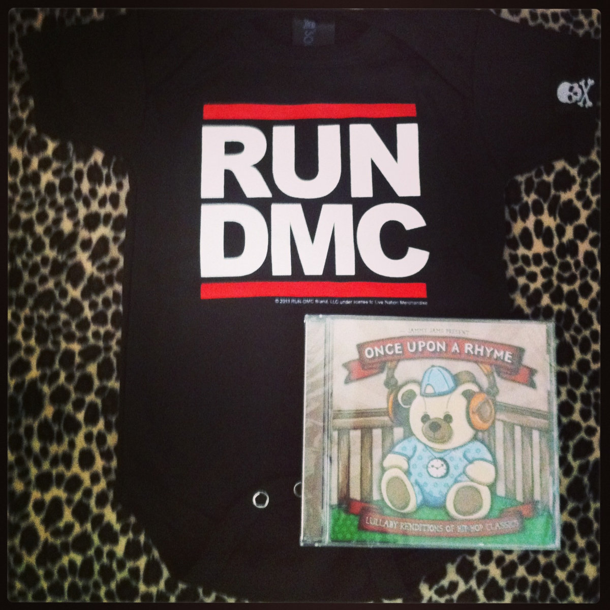 Once Upon A Rhyme CD + Digital Copy + RUN-D M C  Onesie
