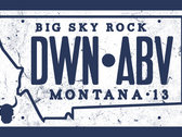 """Down and Above """"license plate"""" t-shirt - NOTE - see color explanation in description. photo"""