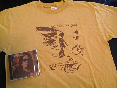 Earth Tones CD & Limited Edition T-Shirt main photo