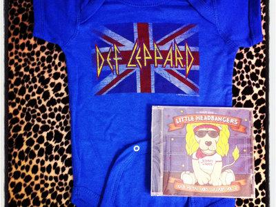 Little Headbangers CD + Digital Copy + Def Leppard Onesie - Bundle main photo