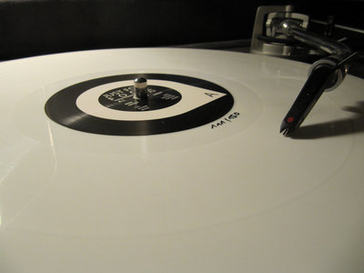 Limited 150 copies of white Vinyl main photo