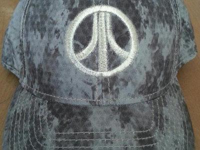 8BitOps Atari-Peace-Corps Urban-cammo Silver-Logo embroidered Caps - FREE Shipping main photo