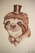 Sloths Wear Ties image