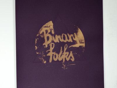 Affiche sérigraphiée Binary folks main photo