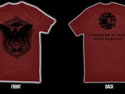 SVARTIDAUÐI - Apostles of the Apocalypse t-shirt big sizes main photo