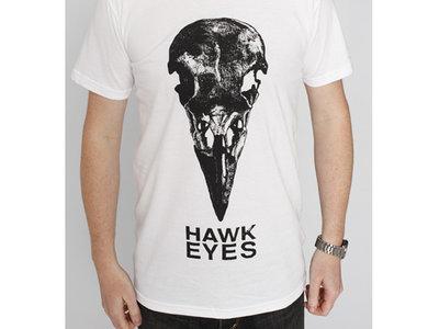 White Hawk Eyes Logo T Shirt main photo