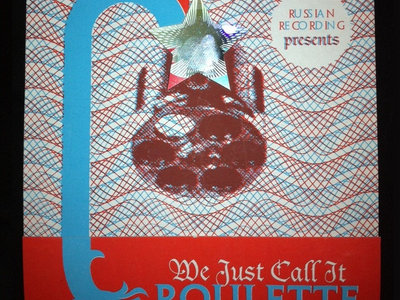 'Russian Recording Presents: We Just Call It Roulette Volume 2' CD main photo