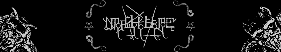MALHKEBRE LOGO BLACK METAL ORTHODOXE FRANCE