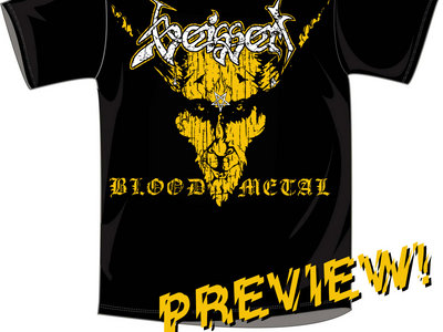 "T-Shirt ""BLOOD METAL"" main photo"