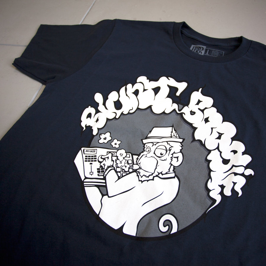 8fceaefc5f4 BBR Monkey Tee. from Blunt Boogie Records