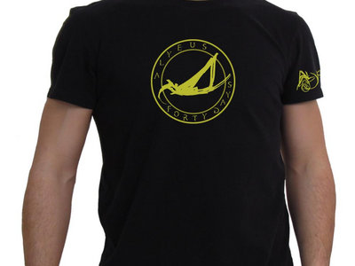 "Alyeus ""Forty Days at Sea"" - Man on a Boat - T-Shirt main photo"