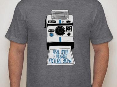 Men's Indigo Camera T-shirt main photo
