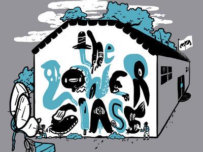 "The Lower Class ""School Graffiti Shirt"" main photo"