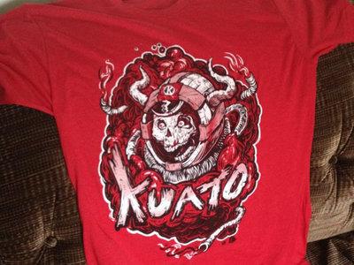 Kuato Spaceskull Shirt RED main photo