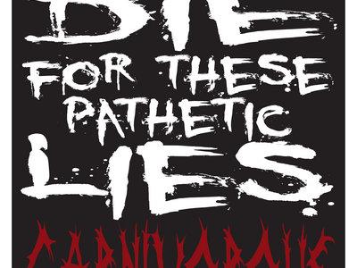 Pathetic Lies Lyrics T-shirt (preorder) main photo