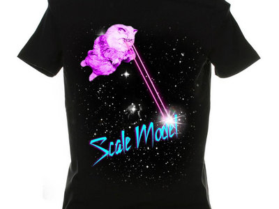 Limited Edition Laser Cat Tshirt main photo