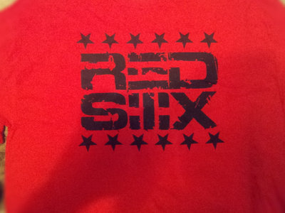Red Six Logo T-Shirt (Red / Black) main photo