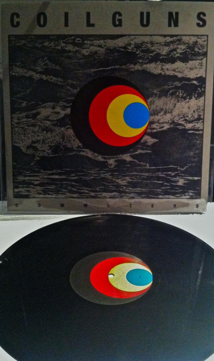Grey Album Cardboard Art Paper Texture Bright Rough: Coilguns - Commuters