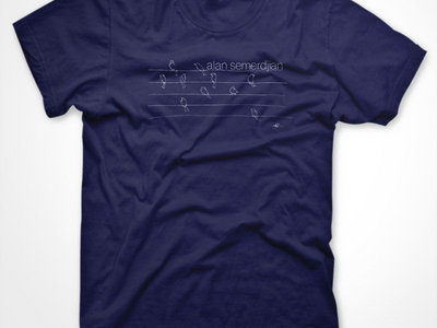 Alan Semerdjian - 'Quiet Songs for Loud Times' T-Shirt main photo