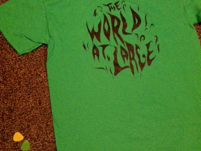 The World At Large solid colored t-shirt (includes free download of Big Bad World) main photo
