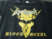 "T-Shirt ""BLOOD METAL"" photo"